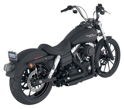 Vance And Hines Shortshots Staggered Exhaust System For Harley Davidson FXD Dyna Super Glide 2007-2010  FXDB Street BobFXDC Super Glide Custom 2007-2011  FXDBI Street BobFXDCI Super Glide CustomFXDI Dyna Super GlideFXDI35 Dyna 35th Anniversary