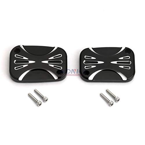 Black Clutch Brake Master Cylinder Cover For Harley V Rod VRSCAW Night Rod Special VRSCDX Touring FLHX FLHT 14-16
