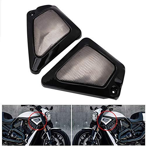 Motorcycle Airbox Frame Neck Side Air Intake Cover For Harley V-Rod VRSCA Anniversary VRSCB Screamin Eagle VRSCSE Destroyer VRSCAW VRSCX Muscle VRSCF Night Rod Special - Black
