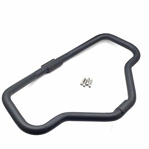 XKH- Motorcycle Matte Black Front Crash Saftey Bars Protection For 2005-2016 Harley Davidson Iron 883 XL883N XL1200N XL1200L 48 XL1200X Sportster