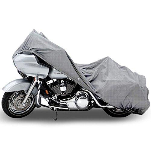 Motorcycle Bike 4 Layer Storage Cover Heavy Duty For Harley Davidson Dyna Glide Fat Bob Street Bob