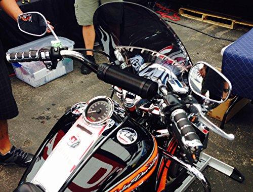 Harley Davidson Softail Standard Custom Night Train Springer 2006-2010 Universal 6 Speaker All Weather Handlebar Sound System