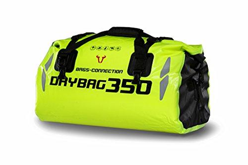 SW-MOTECH Drybag 350 35-Liter Roll-Top Dry Bag in High Viz
