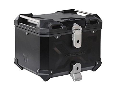 SW-MOTECH TRAX ADVENTURE 38-Liter ALU-BOX Topcase Black Powder Coated