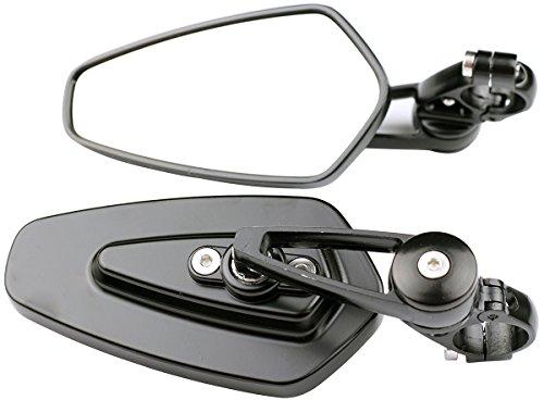 Arrow Bar End View Mirrors for 1999 Ducati 900 SS Half Fairing