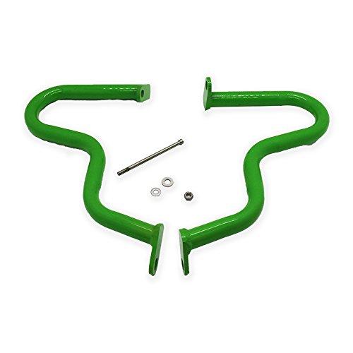Motorcycle Crash Protection Bars Engine Guards fit KAWASAKI ER6N 2012 -15 green