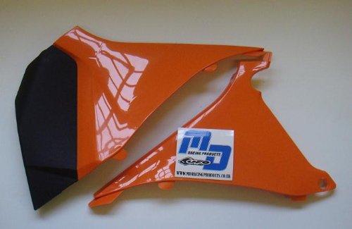 UFO Plastics Air Box Cover - Orange  Color Orange KT04026-127