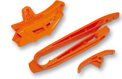 UFO Plastics Chain GuideSlider Kit Orange KTM EXC SX SXF 97-07