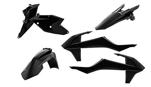 Acerbis Plastic Kit - Black 2634060001