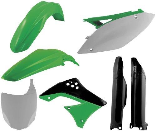 Acerbis Plastic Kit Black for Kawasaki KX250F KX 250F 09-11