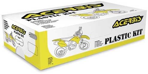 Acerbis Plastic Kit Standard - White  Color White 2082050002
