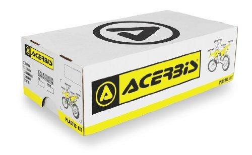 Acerbis Plastic Kit White Yamaha YZ250F YZ450F 06-09