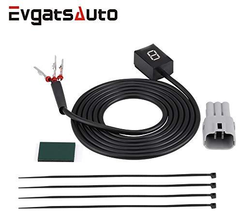 Evgatsauto Waterproof N-6 Speed Gear Display Indicator Motorcycle ECU Plug for Suzuki Intruder 800 V-Strom GSXR 600