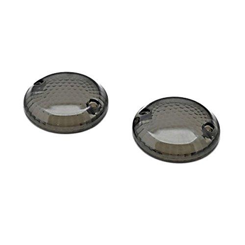 Krator Smoke Turn Signal Lens Lenses Indicator Blinkers For 1987-2003 Suzuki Intruder 1400  VS1400GL