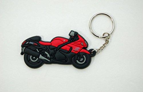Suzuki GSX1300R Hayabusa 3D Keychain Keyfob Red 990A0-19108
