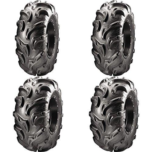 Set of 4 ATV ITP Tires Mayhem 25x8-12 Front 25x10-12 Rear