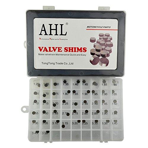 AHL 748mm OD Adjustable Valve Shim Kit for Honda CRF250R CRF250 R 2004-2012 47pcs