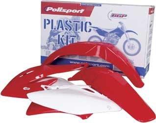 Polisport Plastics Kit Red for Honda CRF250R CRF 250R 08