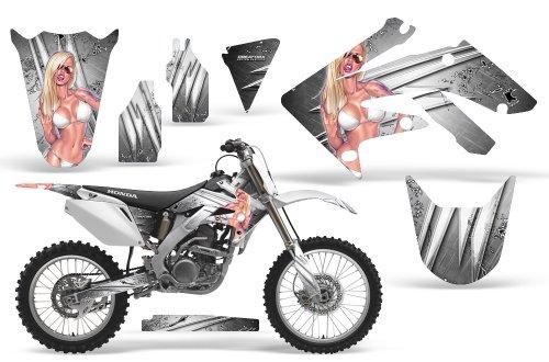 CreatorX Honda Crf 250 R Graphics Kit Decals Stickers You Rock White