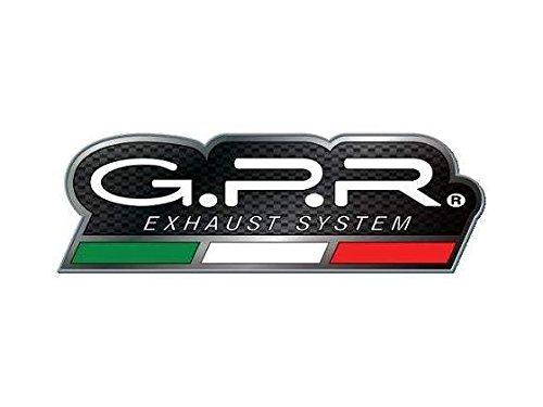 HONDA CRF 250 R 200305 STREET LEGAL FULL EXHAUST SYSTEM GPR GPE EVO TITANIUM