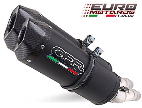 Honda CRF 250 R 2006-2007 GPR Exhaust Dual Silencers Ghisa Evo Homologated New