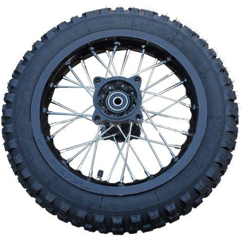 12 Rear Wheel Rim Tire Assembly for 110cc 125cc 140cc 150cc Dirt Bikes