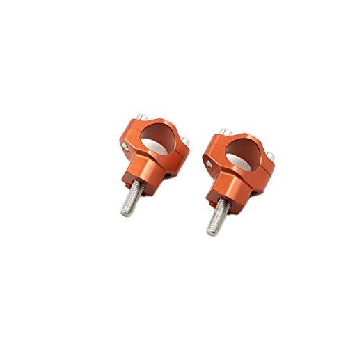 1 18 28mm CNC HandleBar Risers Bar Mounts Clamps For KTM SX SX-F EXC EXC-F XC-W XCF-W