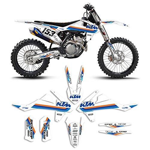 2016-2017 KTM SX-SXF 125-450 ICON Motocross Graphics Dirt Bike Graphic Decal