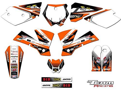 Team Racing Graphics kit for 2003-2004 KTM SX ANALOGComplete kit