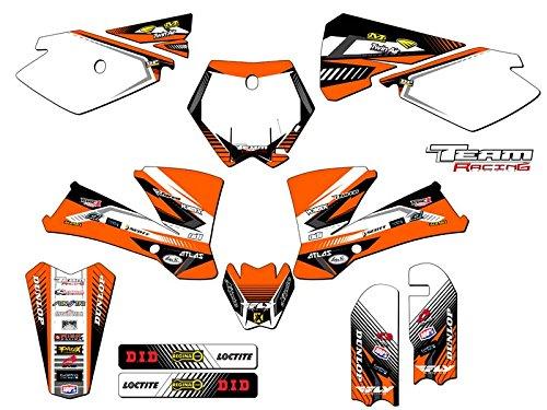 Team Racing Graphics kit for 2003-2005 KTM SX 85105 ANALOGComplete kit