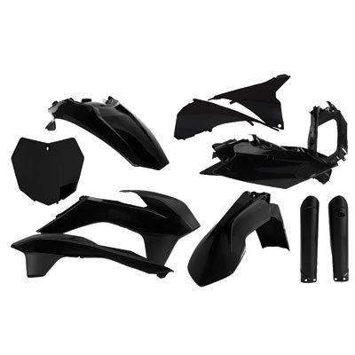 Acerbis Full Plastic Kit Black for KTM 250 SX-F 2015