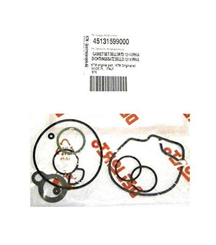 OEM KTM 12-14mm CARBURATOR DELLORTO PHVA GASKET SET 50 MINI JR 50 45131599000