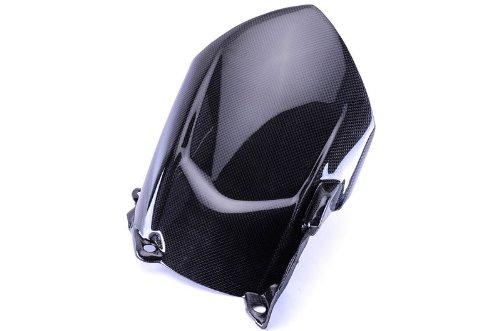 Bestem CBYA-R107-HGR Black Carbon Fiber Rear Hugger Fender Mudguard for Yamaha YZF R1 2007 2008