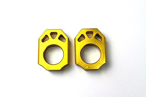 Axle Block Chain Adjuster For Suzuki RMZ250 04-16 RMZ450 05-16 RMX450Z 10-15
