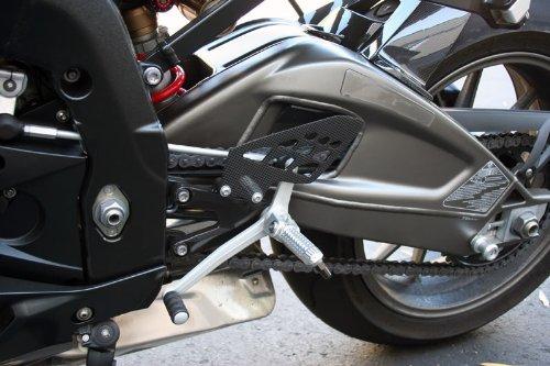 09 10 11 12 13 14 15 16 17 BMW S1000RR HP4 Carbon Fiber Fibre Heel Guard Plate Rearset