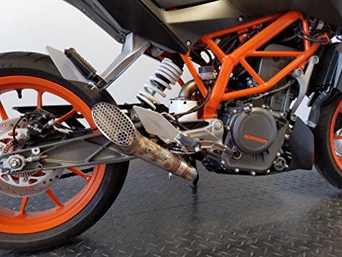 2014-2016 KTM DUKE 390 GP Exhaust Slip on kit
