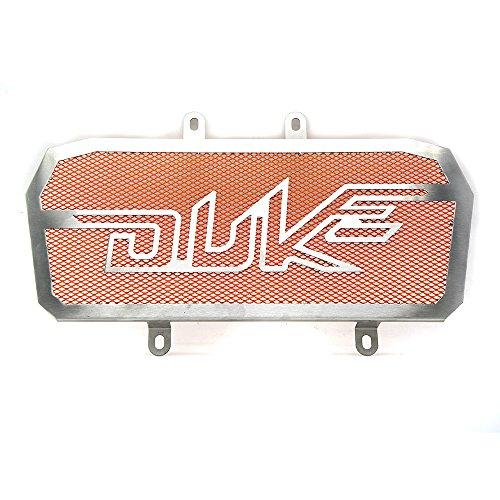 Duke 390 Motorcycle Radiator Grille Guard Protective Cover For KTM DUKE 390 2013 2014 2015 2016 2017 - Orange