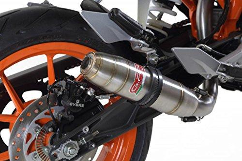KTM Duke 390 2013-2014 GPR Exhaust Systems Catalyzed Deeptone Slipon Muffler Side Mount