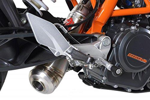 KTM Duke 390 2013-2014 GPR Exhaust Systems Catalyzed Powercone Slipon Muffler Underengine Mount