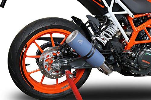 KTM Duke 390 2017-2018 GPR Exhaust Slip-On Silencer M3 Titanium Moto3 Replica Limited Edition