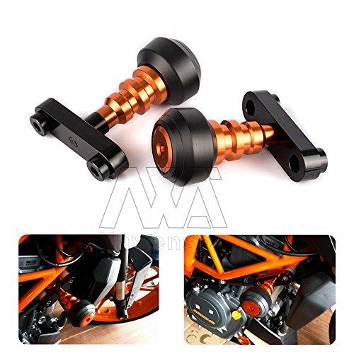 Motorcycle Left and Right Frame Slider Anti Crash Protector For KTM DUKE 39013-16 DUKE 125200