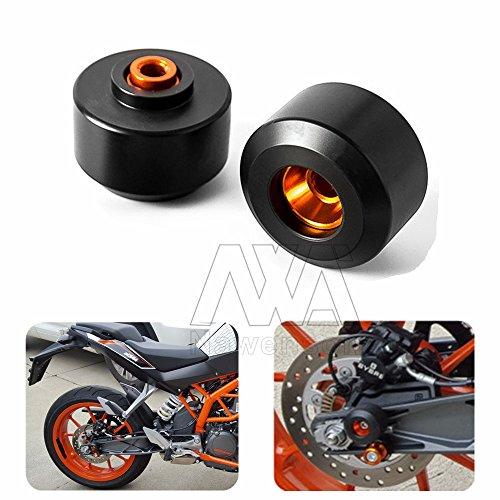 Motorcycle Rear Fork Wheel Frame Slider Crash Pads Protector For KTM DUKE 39013-15 DUKE 125200
