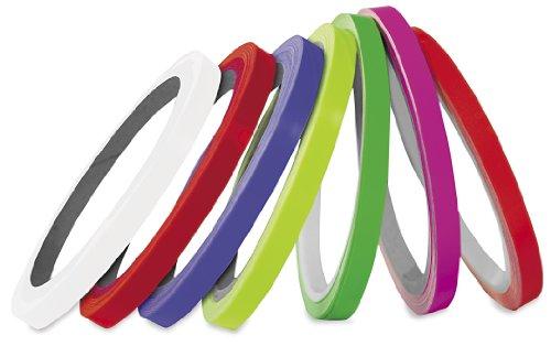 Pro Grip Wheel Tape Strip Stripe Fluorescent Pink