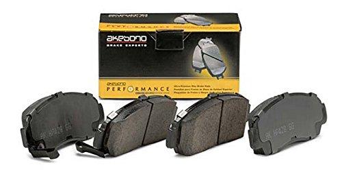 Akebono Performance ASP1363 Akebono Performance Ultra Premium Ceramic Disc Brake Pad Kit