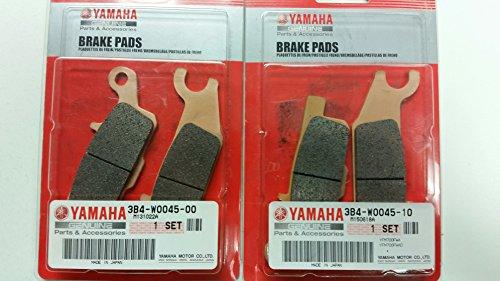 Yamaha Grizzly 700550 OEM Yamaha Front Brake Pad Kit LeftRight