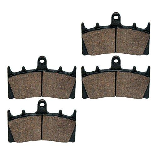 Caltric Brake Pads FITS KAWASAKI VN1500 VN-1500 VULCAN 1500 Mean Streak 2002 2003 Front Brakes