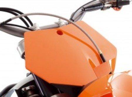 KTM FRONT START NUMBER PLATE ORANGE 65 SX XC 2002 - 2008 46108007000X4