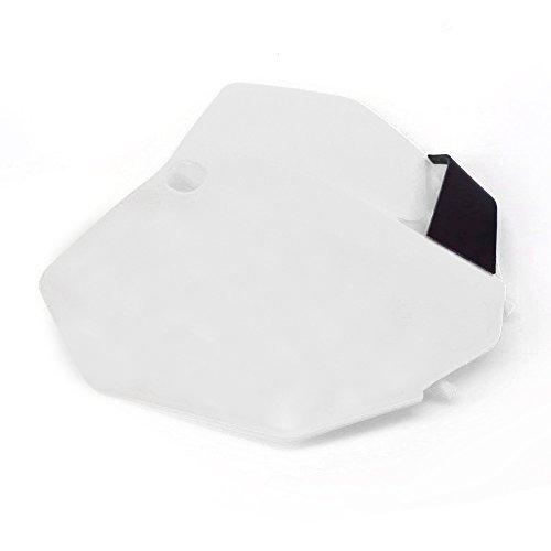 Plastic Front Name Number Plate For KTM 2013-15 SX SXF XCF 125 250 350 450 Dirt Bike Motocross Enduro - White