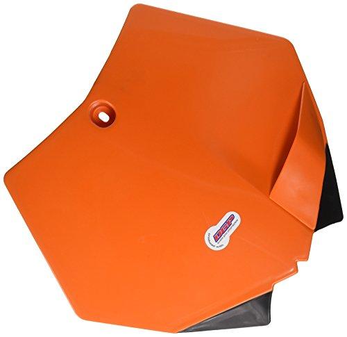 Polisport 8664400001 Orange KTM Front Number Plate