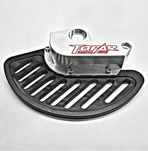 Topar Racing KFD-100-109-P KTM FRONT BRAKE DISC GUARD KIT UHMW FIN for 2000-2002 KTM ALL MODELS 125cc to 525cc